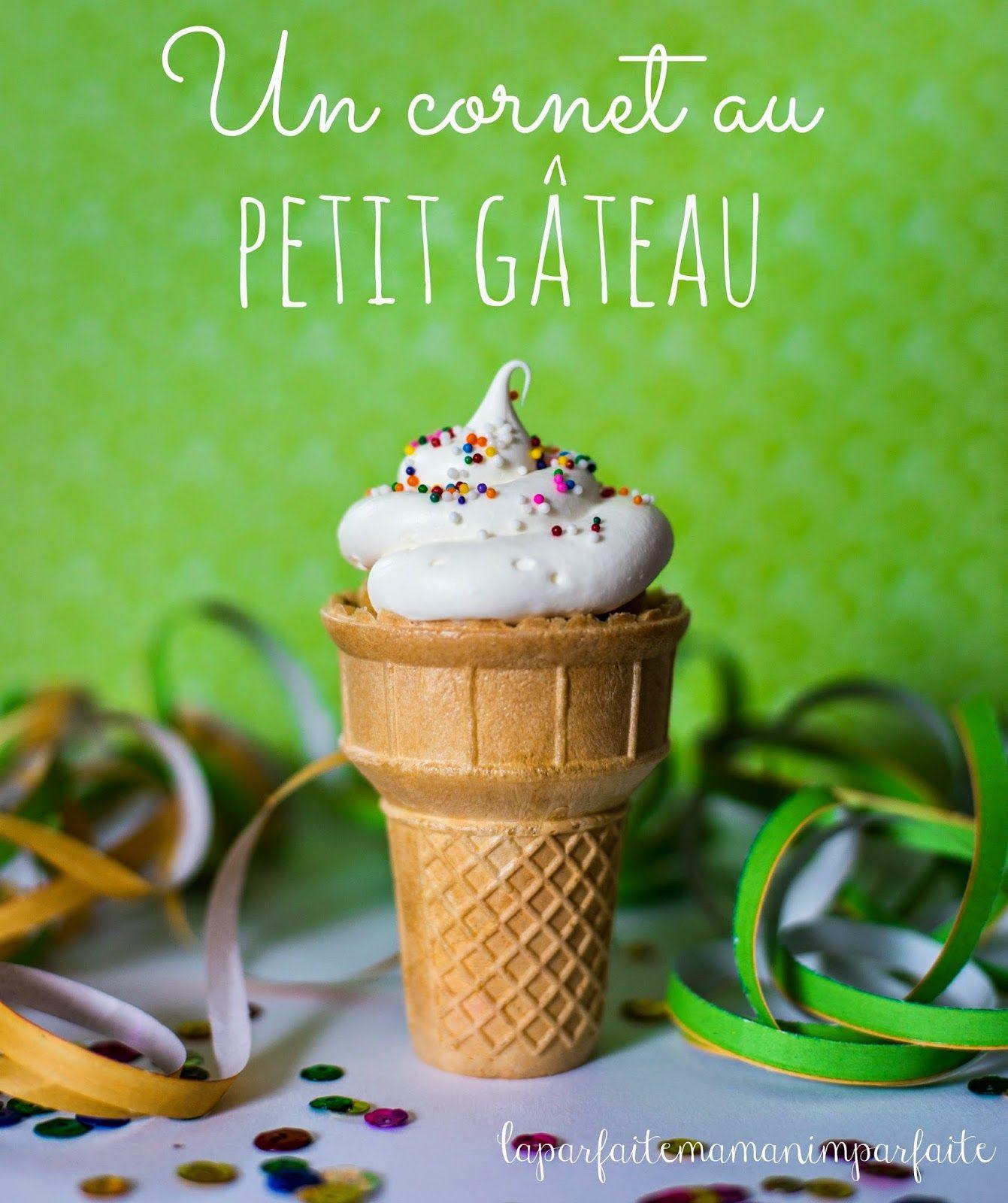 Un Cornet Au Petit Gateau