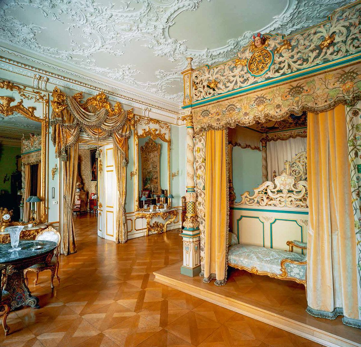 Thurn und Taxis Family Country Home Schloss St. Emmeram   Architectural Digest