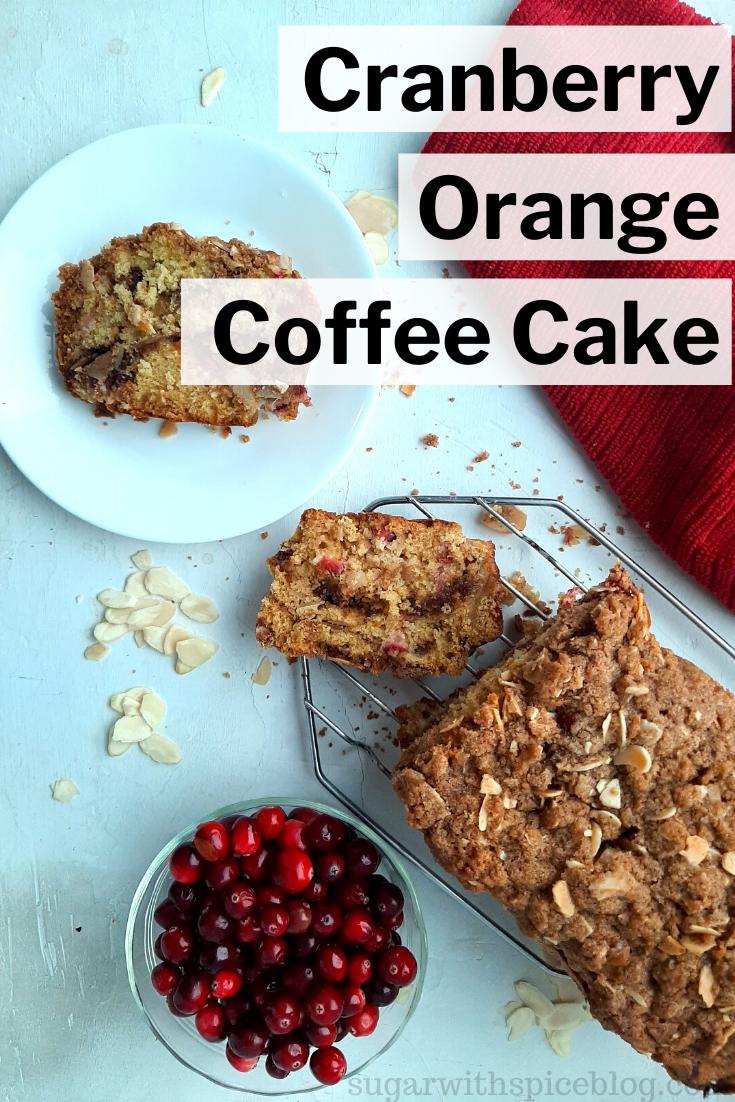 Cranberry Orange Coffee Cake Sugar And Spice Recipe Orange Coffee Cake Orange Coffee Cake Recipe Recipes Using Sour Cream