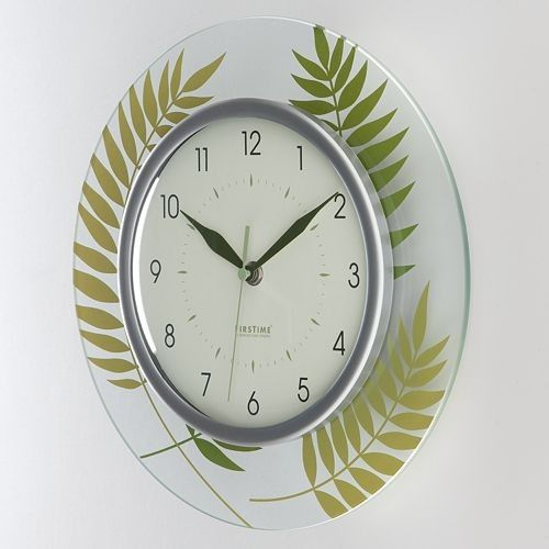 Firstime Parkview Ave Fern Wall Clock | Home