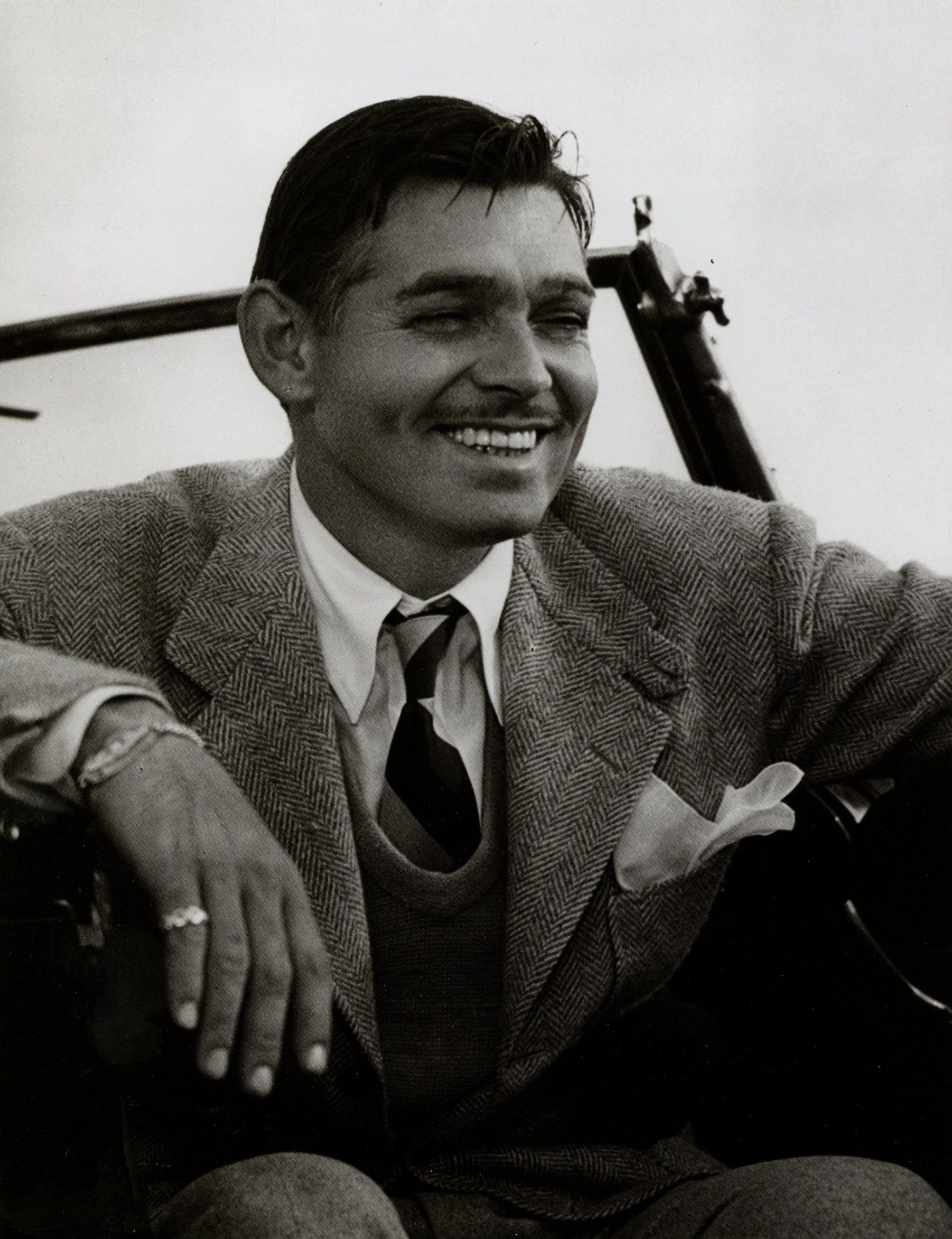 my all-time favorite male type: Clark Gable
