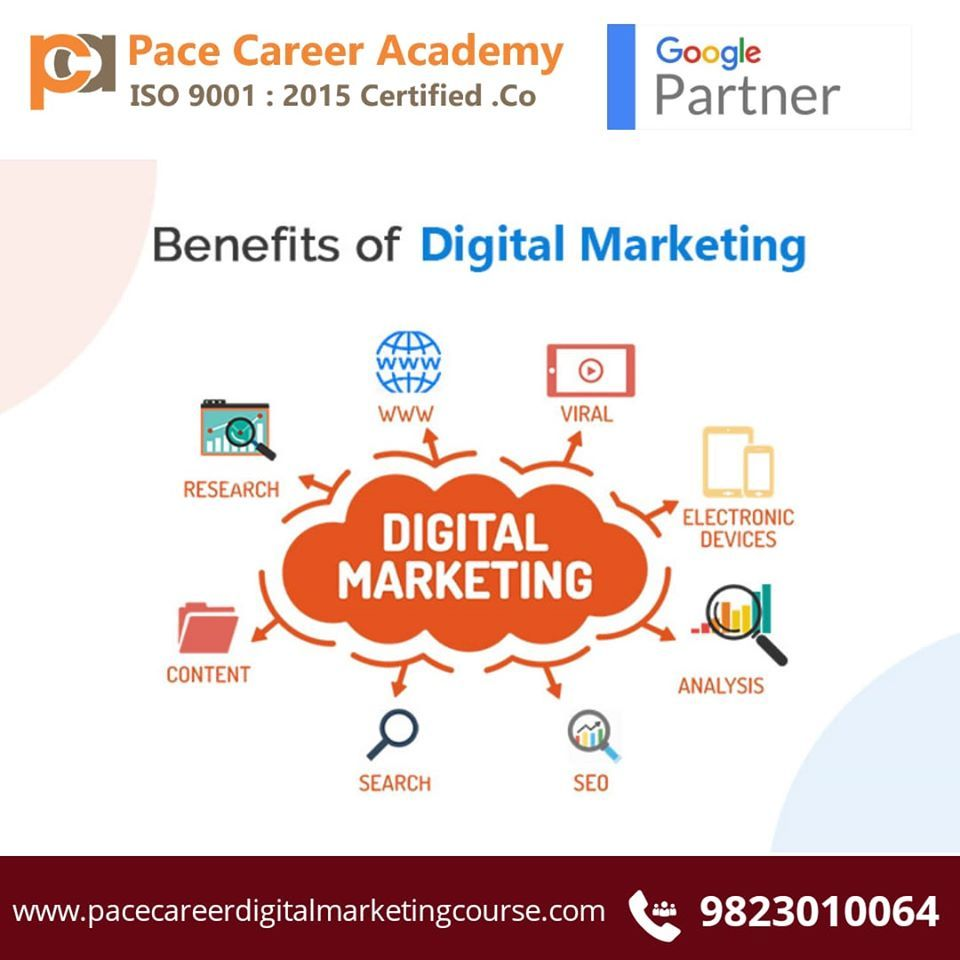 While those things are still essential, a significant part must also include a digital marketing strategy. Digital marketing course in Pune with placement ...