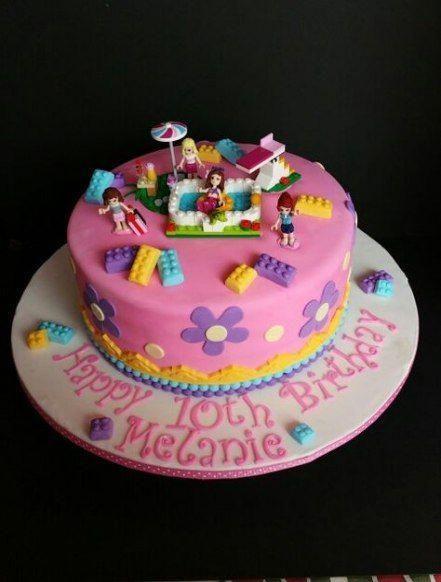 Photo of Flowers Birthday Cake Pink 63+ Ideas #flowers #legocake