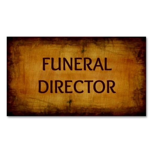 Funeral director business card funeral directors funeral and funeral director business card colourmoves