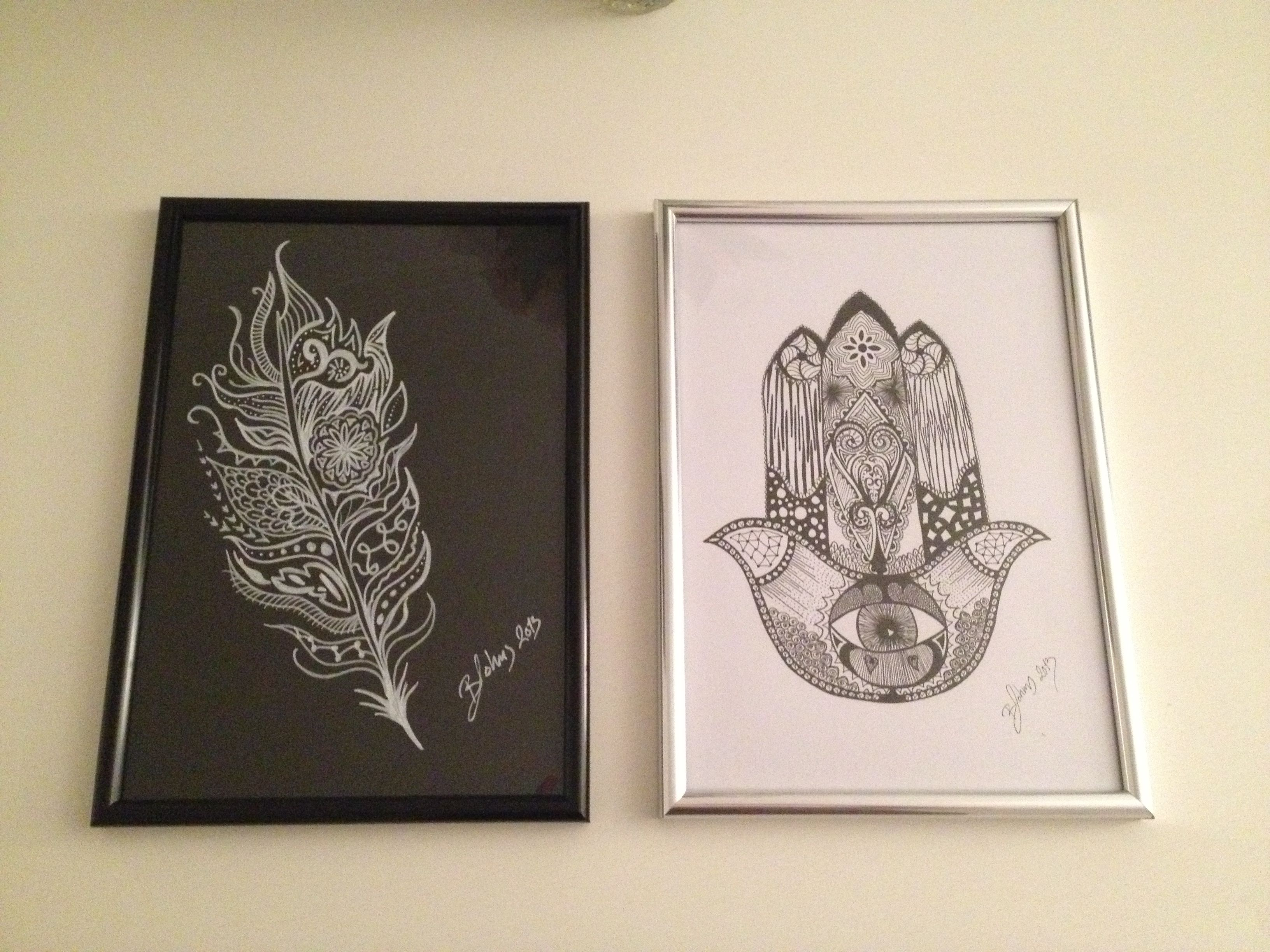 Made some new art for our home this evening