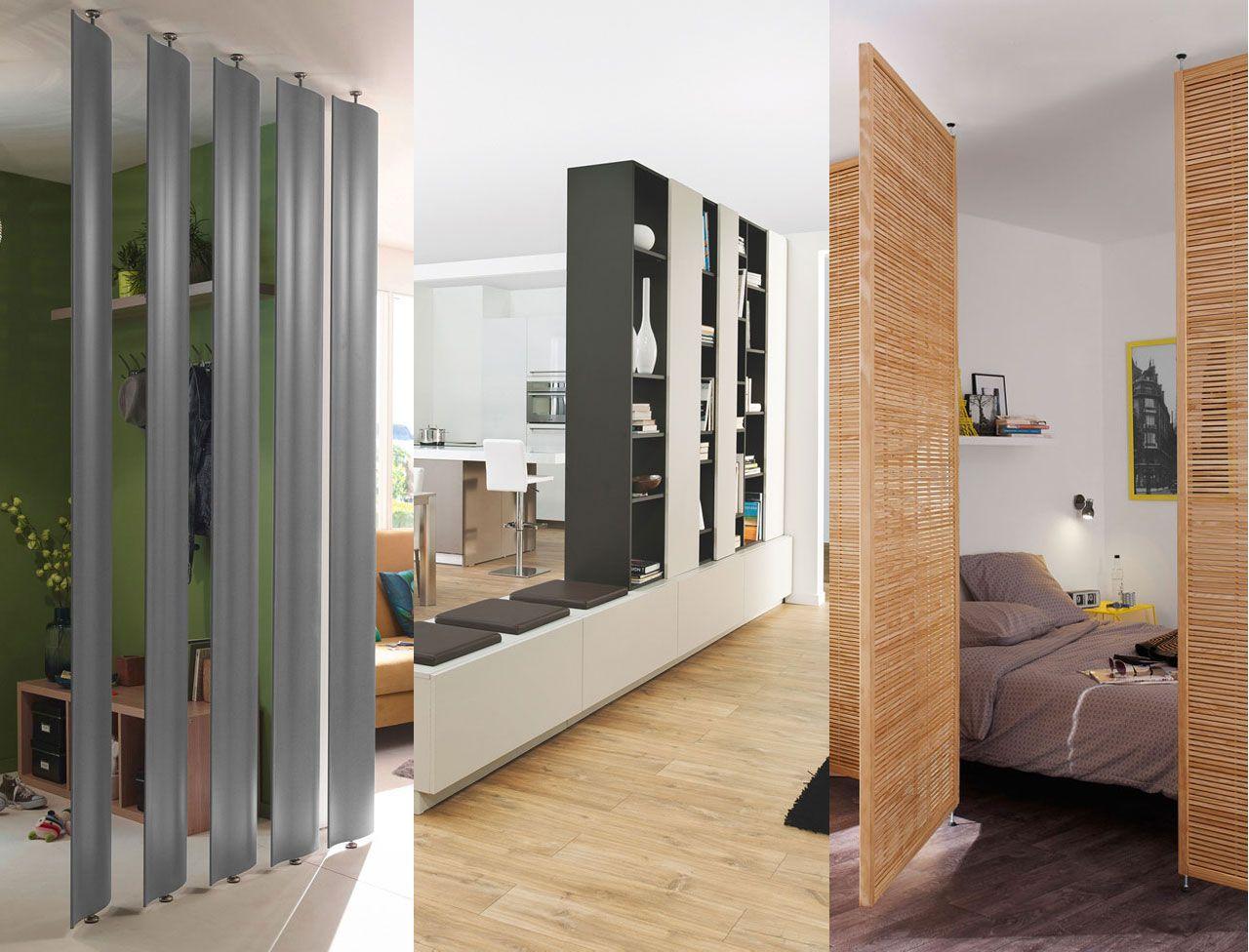 Comment cloisonner une pièce facilement | Cloison, Cloison decorative, Moulure plafond