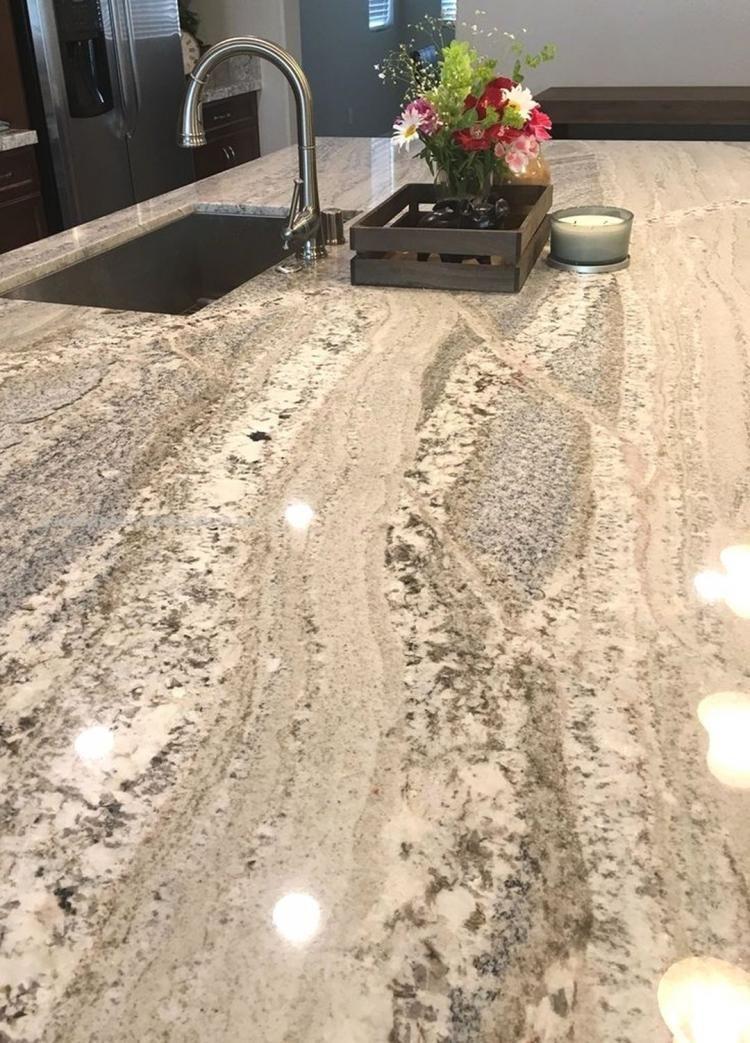 30 Simple Granite Slabs Kitchen Countertops Ideas Kitchenideas Kitchencounterdecor Kitch Granite Countertops Kitchen Kitchen Remodel Countertops Countertops