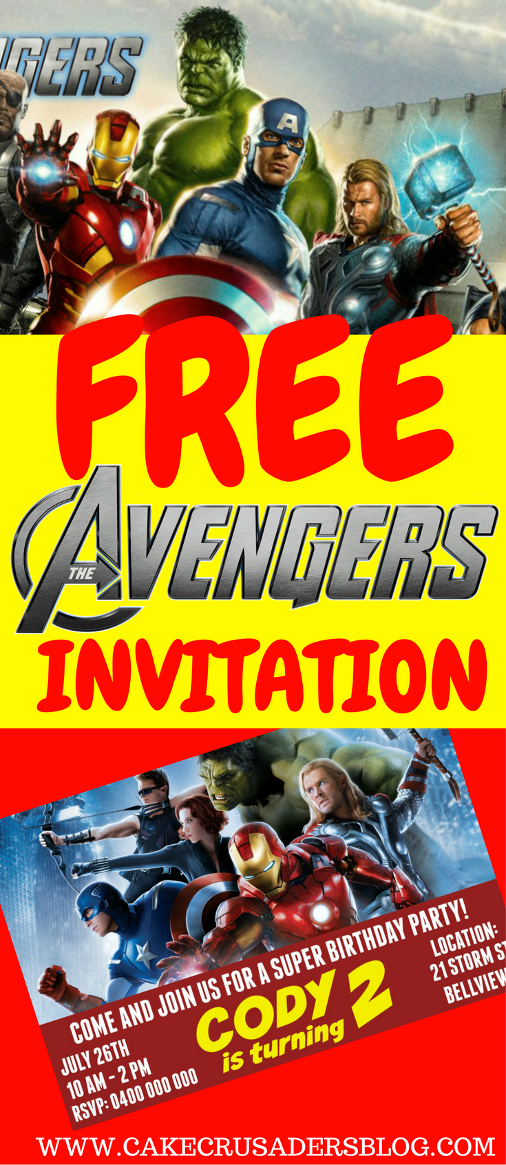 avengers party series how to make avengers digital invitation for