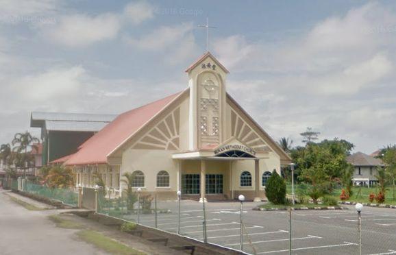 卫理工会沐胶沐安堂 Mukah Methodist Church