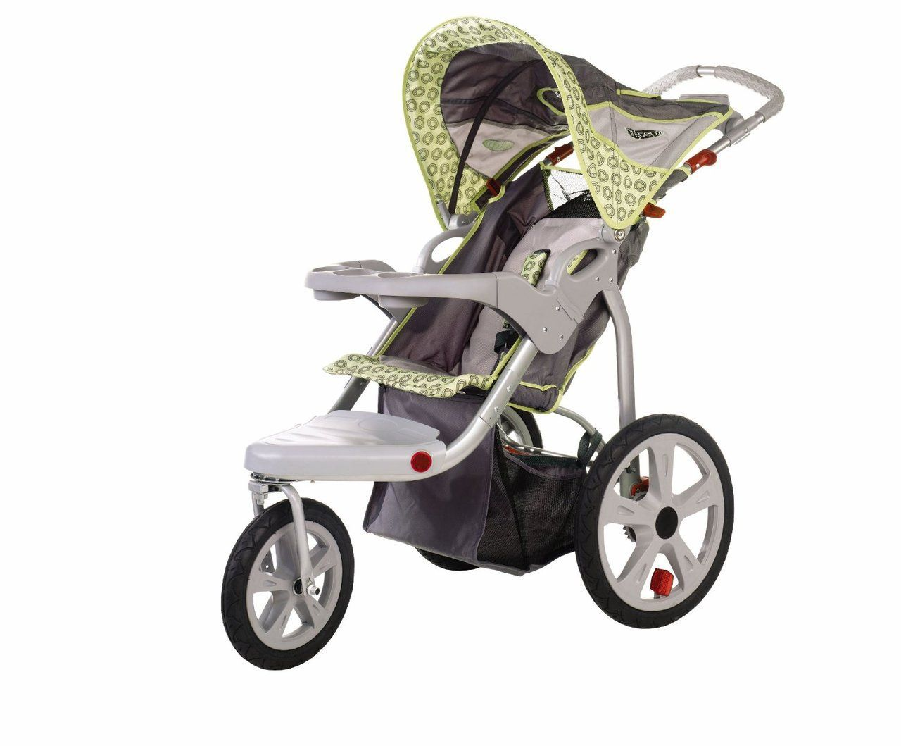 Rent InStep Single Jogging Stroller front swivel Baby