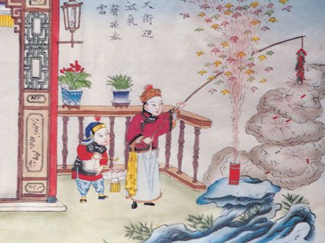 Chinese New Year Legend China Culture Chinese New Year Asian Art