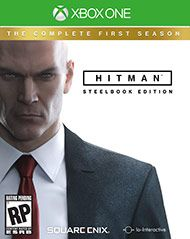 Boxshot: Hitman: The Complete First Season SteelBook Edition by Square Enix | Xbox one games ...