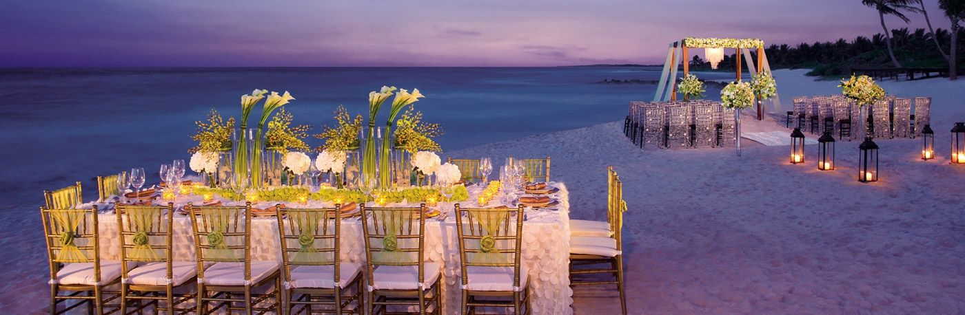all inclusive beach wedding destinations%0A Weddings at Dreams Tulum Resort  u     Spa