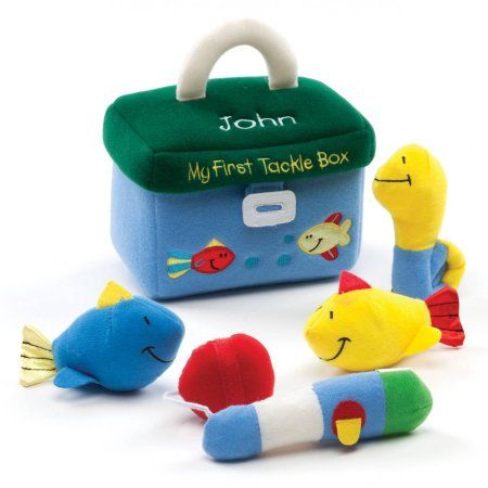 Personalized Gund My First Tackle Box Playset, Multicolor