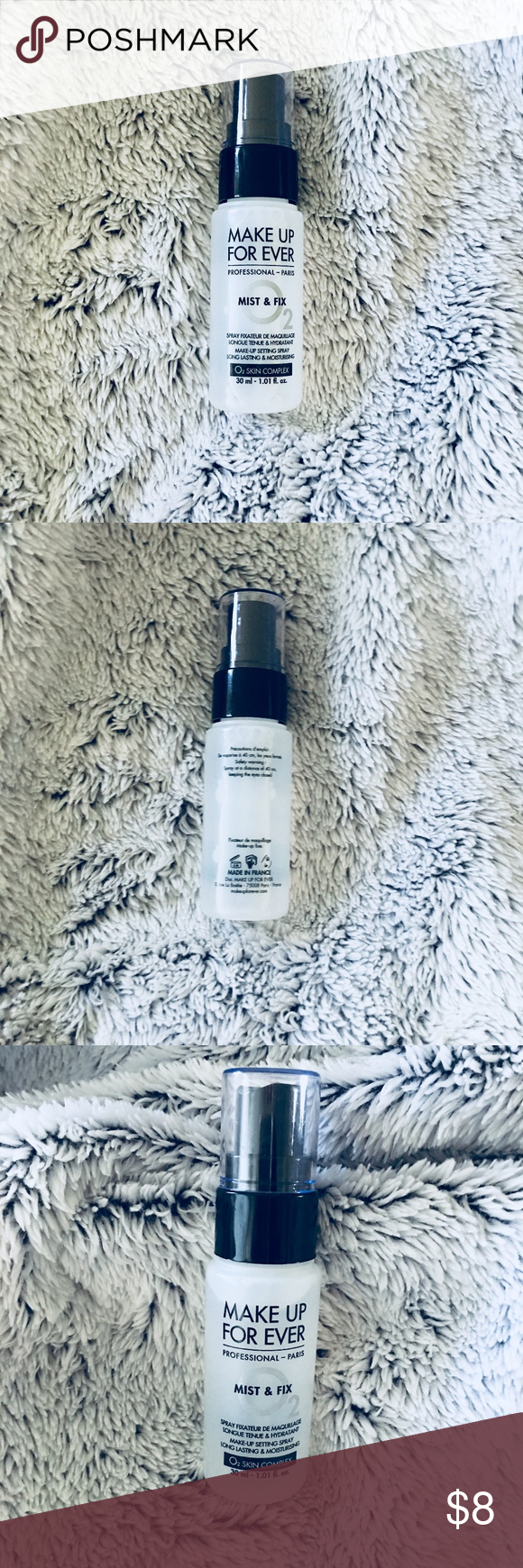 MAKE UP FOR EVER Mist & Fix Setting Spray Mini A universal