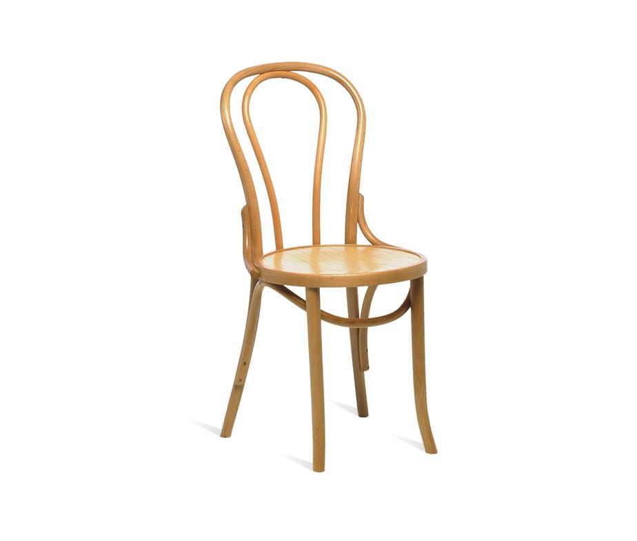Ella Bentwood Dining Chair Natural