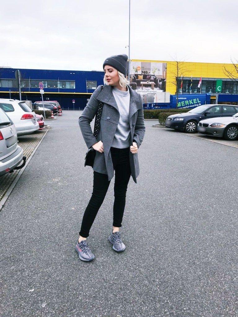 Yeezy Yeezy Beluga v2 2.0 grau outfit ootd Fashion Look Streetfashion Street Palace ...
