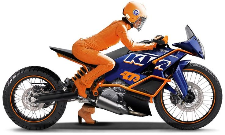 KTM Racing Motorcycle