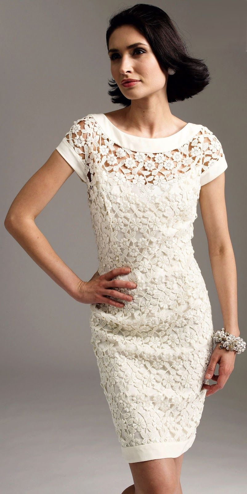 Crochet for the Mother of Groom Dresses