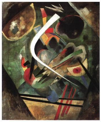 L'Arte è un gesto d'Amore.  #DayAfterART #Venice White Line Wassily Kandinsky, 1920  http://bit.ly/18GCSaj