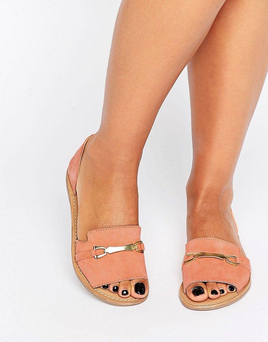 Zapatos de verano de cuero JASMINA de ASOS b9j70CT4GI