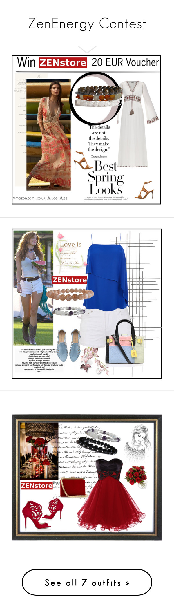 """""""ZenEnergy Contest"""" by zenstore ❤ liked on Polyvore featuring Mode, H&M, Talitha, Sergio Rossi, women's clothing, women, female, woman, misses und juniors"""
