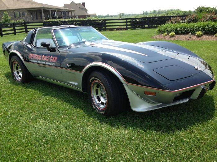 1978 Chevrolet Corvette Pace Car Corvette Chevrolet Chevrolet Corvette