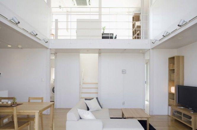 Casa prefabricada minimalista japonés