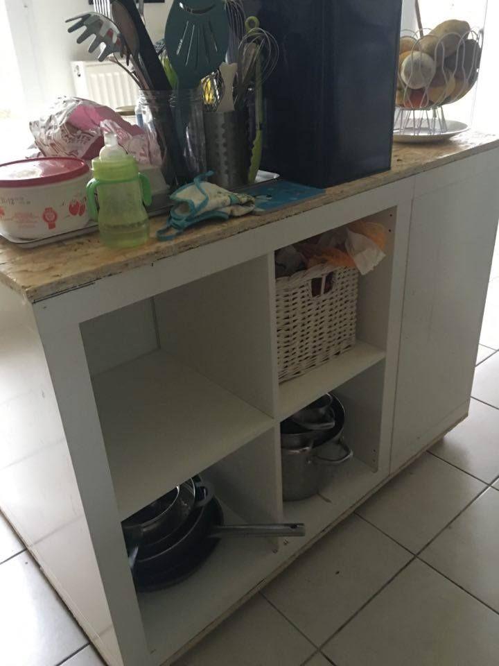 ilot de cuisine ikea avec de l osb ilot de cuisine ikea osb et cuisine ikea. Black Bedroom Furniture Sets. Home Design Ideas