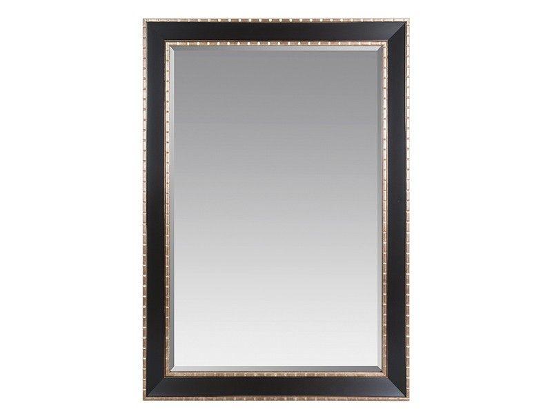 Espejo marco negro y marrón envejecido | Marcos negros, Espejo y Marrón