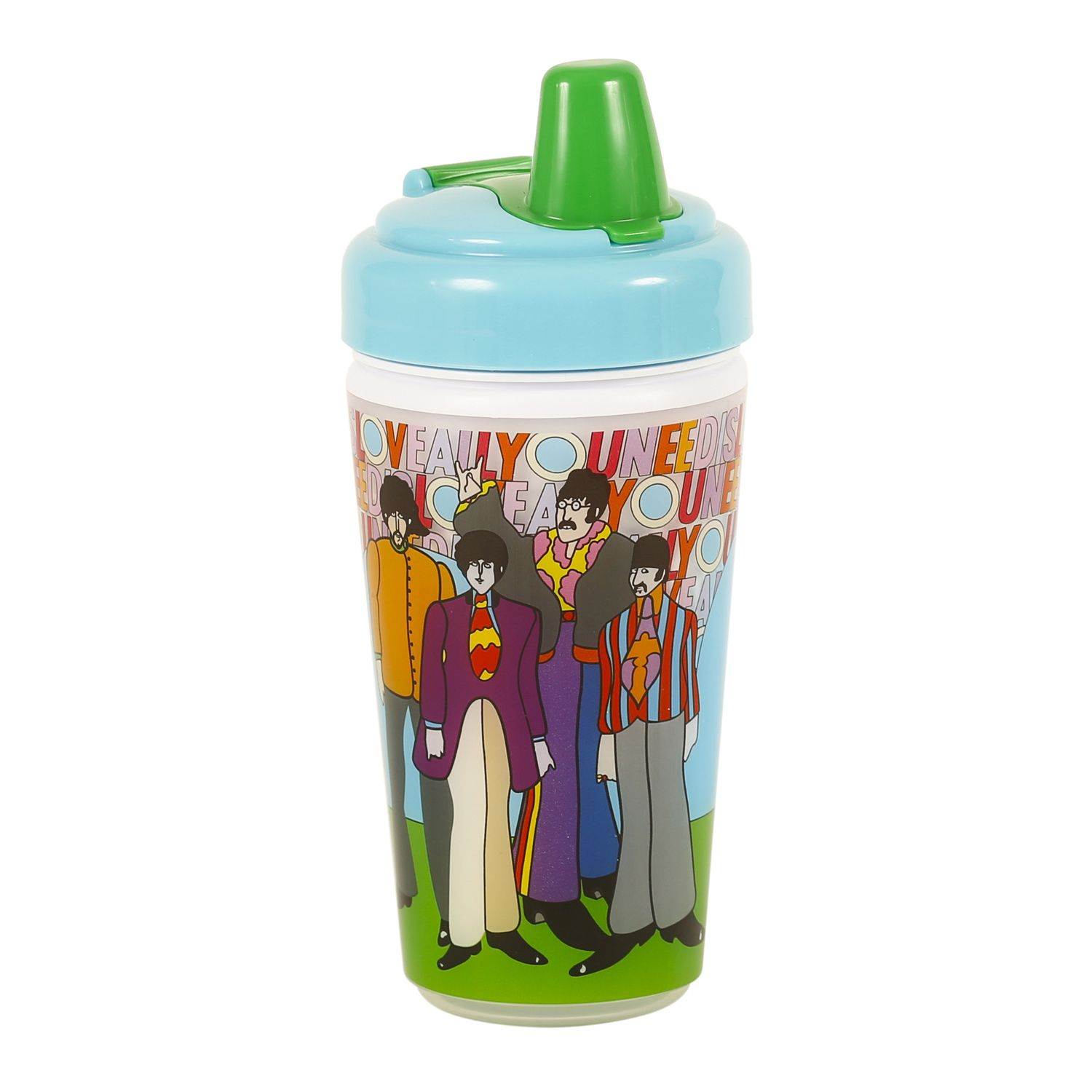 The Beatles All You Need Is Love Sippy Cup 10oz In 2020 Celebrity Baby Names New Baby Products Grumpy Baby
