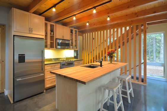 A 1,000 square feet, energy efficient home in Poland, Maine ...