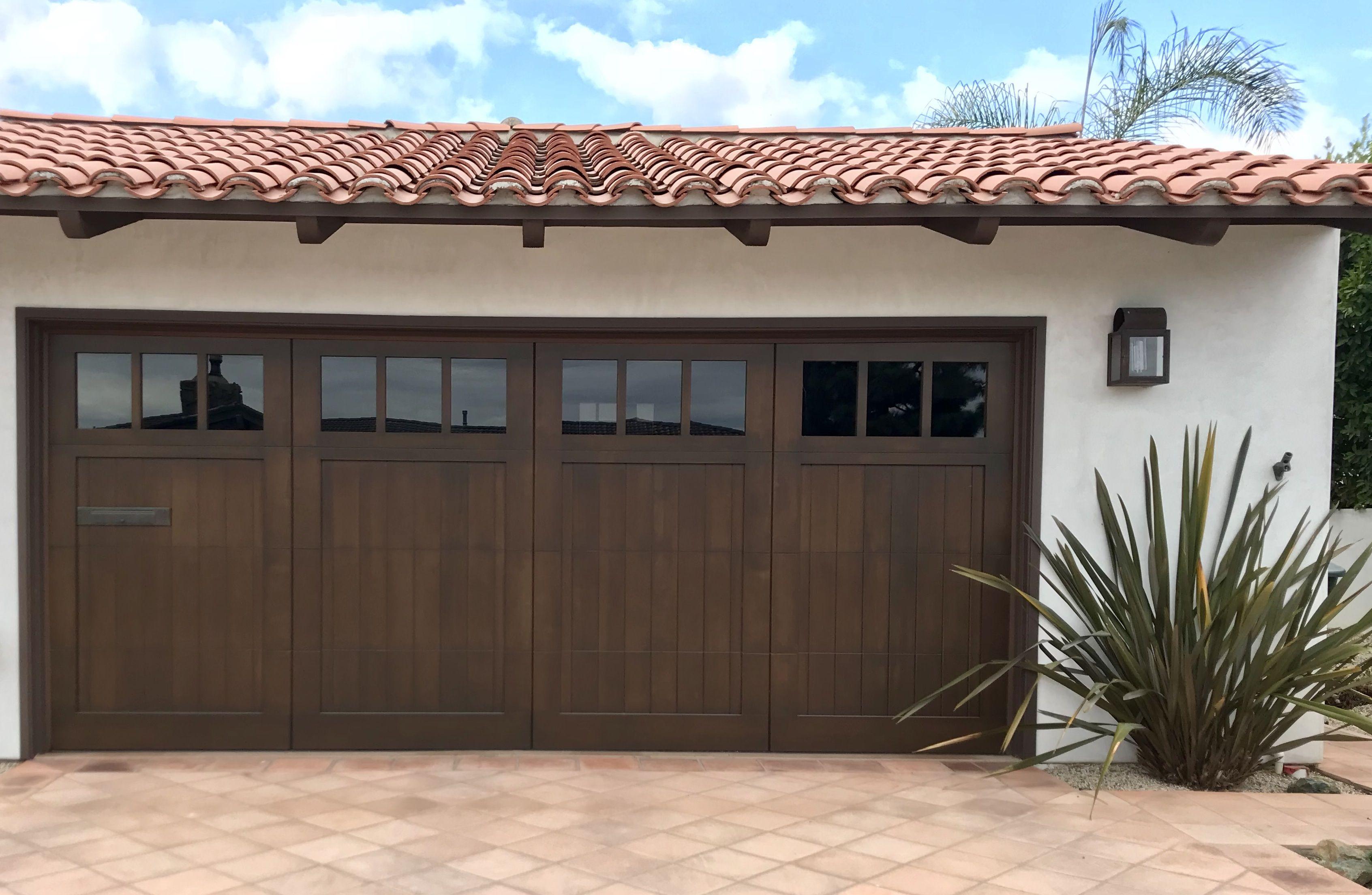 Spanish Collection Garage Doors