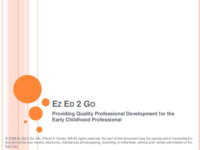 ez ed 2 go providing quality professional development for