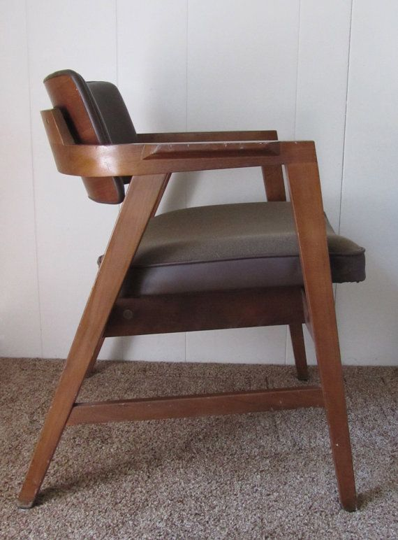 1950s Gunlocke Arm Chair By Pdxpicker On Etsy, $200.00