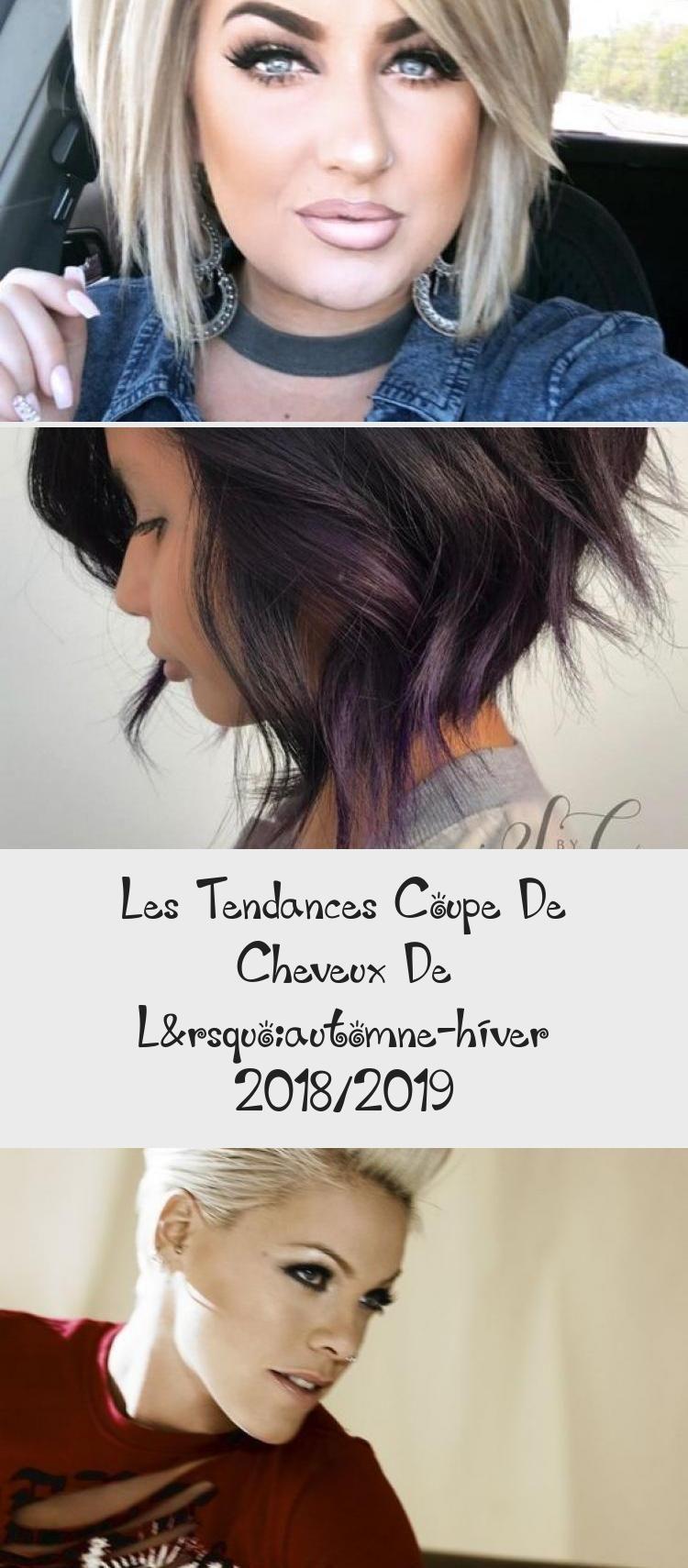 Les Tendances Coupe De Cheveux De L Automne Hiver 2018 2019 In 2020 Blog