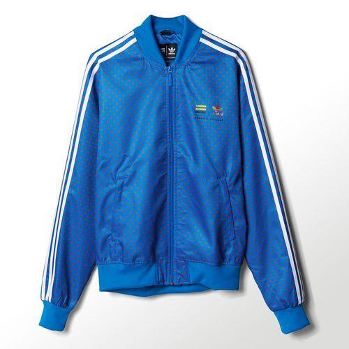 Pharrell adidas polka dot traccia giacca bluebird z97398 ho bisogno