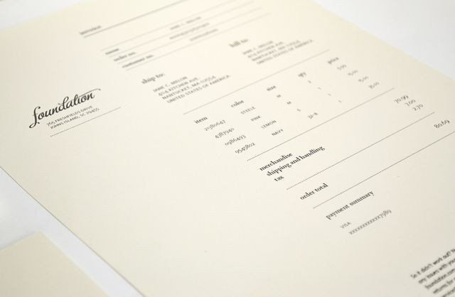Invoice Design 50 Examples To Inspire You Editorial design and - design an invoice