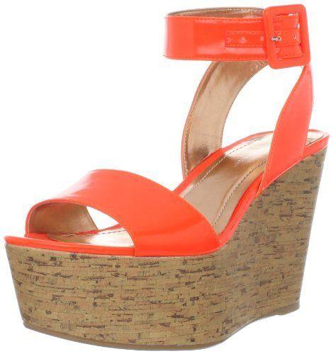 BCBGeneration Women's Lee Wedge Sandal,Neon Orange,6 M US BCBGeneration,http://www.amazon.com/dp/B006Y6PC1G/ref=cm_sw_r_pi_dp_k3exrbFAB1B545B5