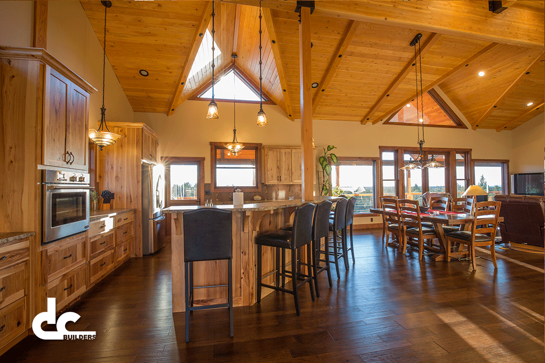 Custom Barn-Style Home In Bend, Oregon | DC Builders ...