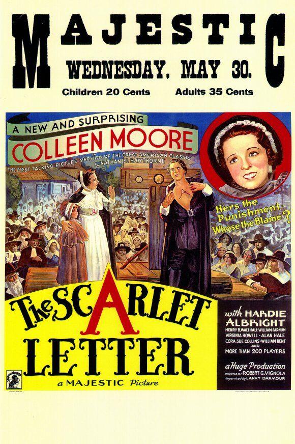 The Scarlet Letter (1934) Scarlet Letter The scarlet