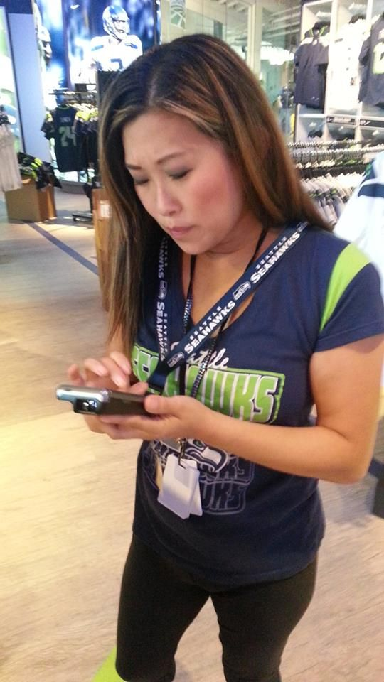 """Congrats to Seattle Seahawks and Sounders on the Grand Reopening of their remodeled & """"re-technologized"""" Pro Shop."""