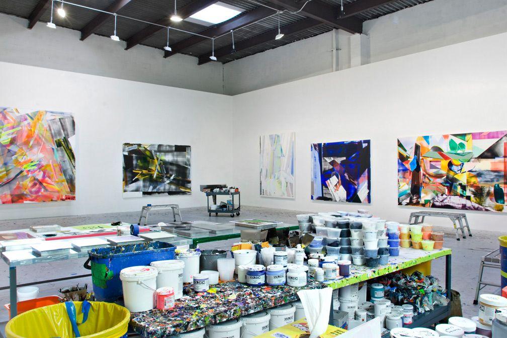 Kristin Baker's studio