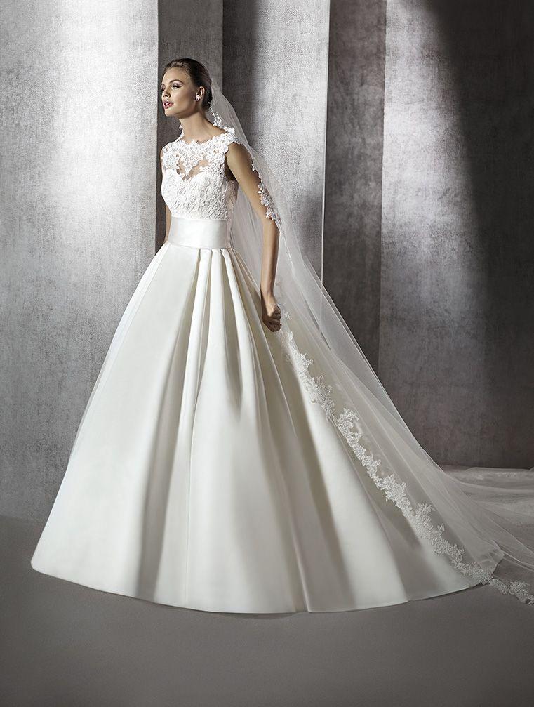 vestido de novia modelo zerelda | st. patrick 2016 | pronovias