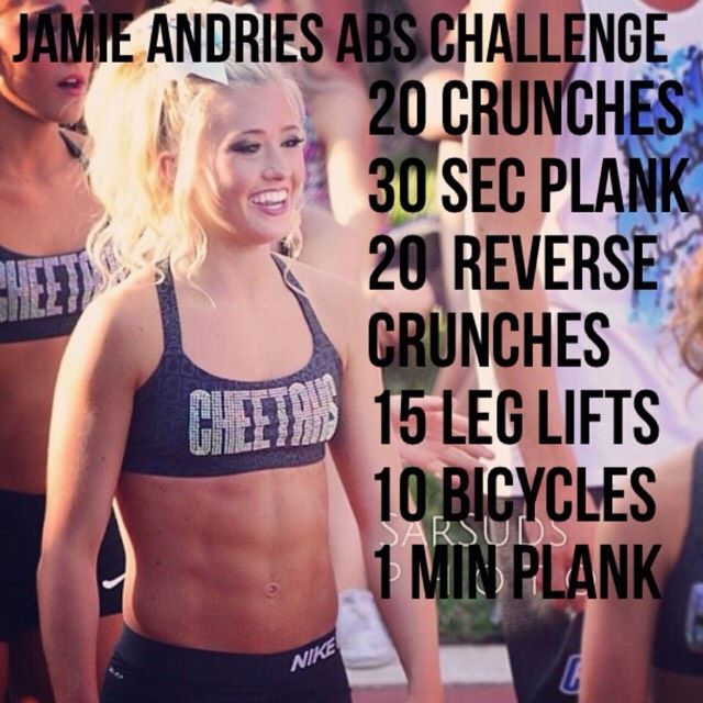 Jamie Andries Workout Challenge #cheerworkouts Jamie Andries Workout Challenge #Health #Fitness #Tru...