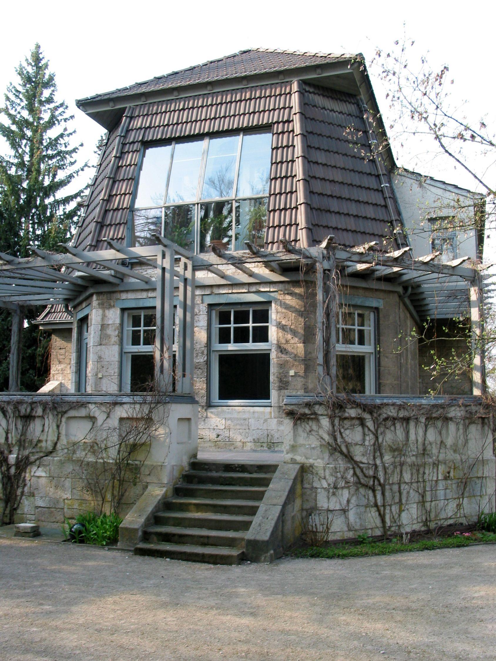 henry van de velde house hohe pappeln weimar 1907 architektur pinterest jugendstil. Black Bedroom Furniture Sets. Home Design Ideas