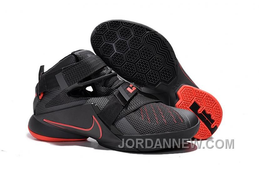 Nehmen Billig Deal Nike Lebron 13 Lighting Schuhe Verkauf Rot Billig Schwarz