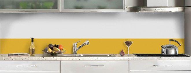 Orange / verre dépoli / mat sur alu   Equipement - Cuisine ...