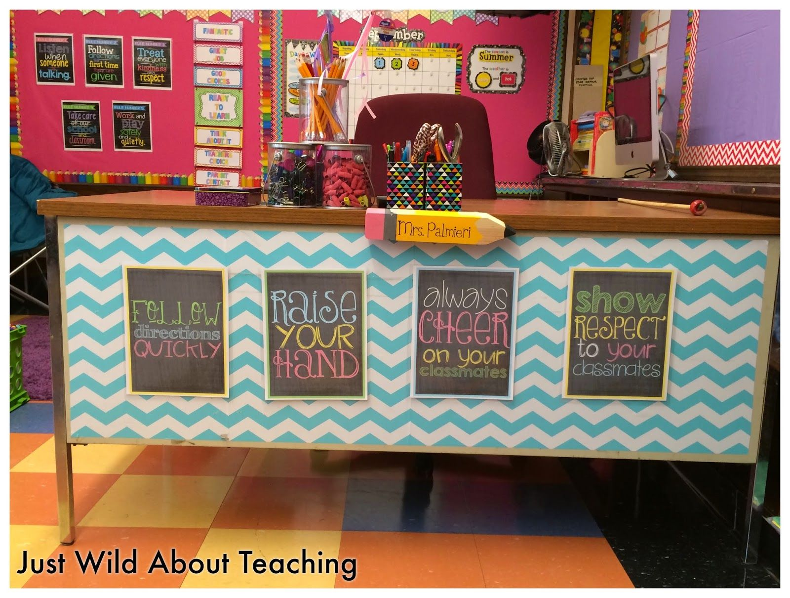 Classroom Decoration Ideas For Teachers ~ Yes i am late to the party… classroom reveal party that