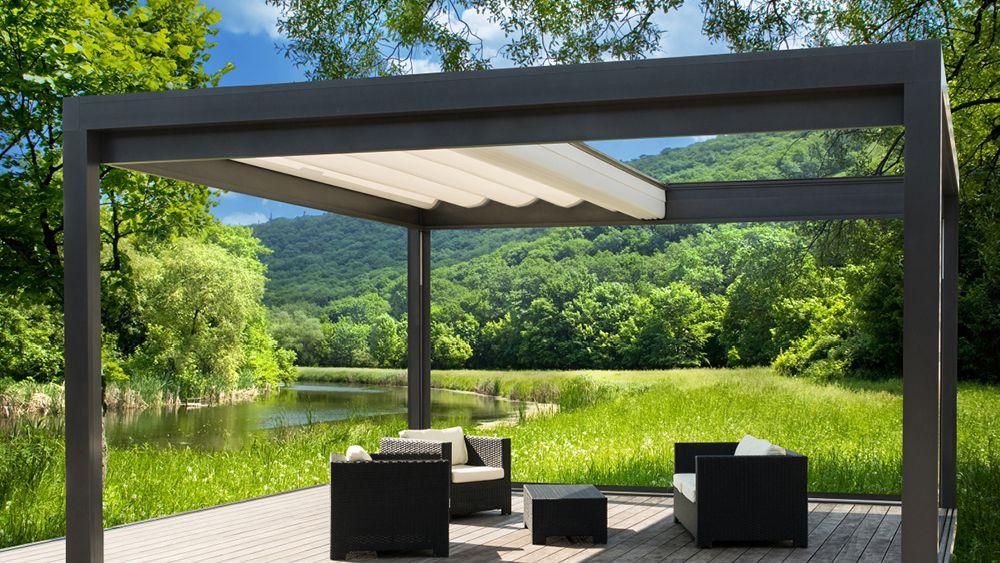 Pergolamarkise Melano Tp7000 Freistehende Faltmarkise Von Klaiber Uberdachung Garten Garten Terrasse Terrassenuberdachung